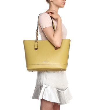 Вместительная сумка из натуральной сафьяновой кожи Ripani