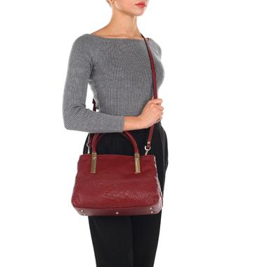 Женская сумочка с отделкой под кожу питона Ripani