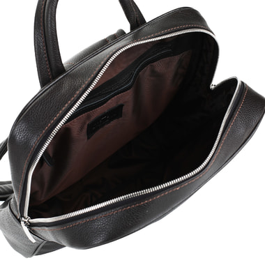 Кожаный мужской рюкзак с эргономичными лямками Stevens