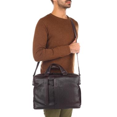 Мужская деловая сумка с отделением для ноутбука Piquadro