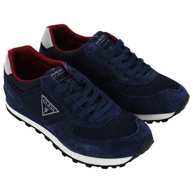 Мужские комбинированные кроссовки Guess