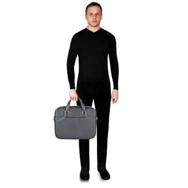Мужская кожаная сумка Stevens