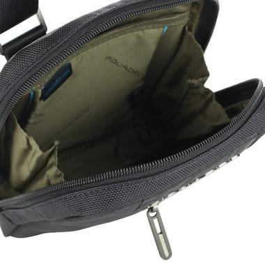 Мужская комбинированная сумка-планшет Piquadro
