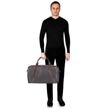 Кожаная сумка дорожная Stevens
