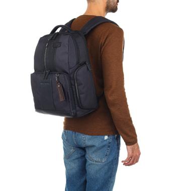Комбинированный мужской рюкзак Piquadro