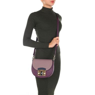 Маленькая сумочка из натуральной сафьяновой кожи Cromia