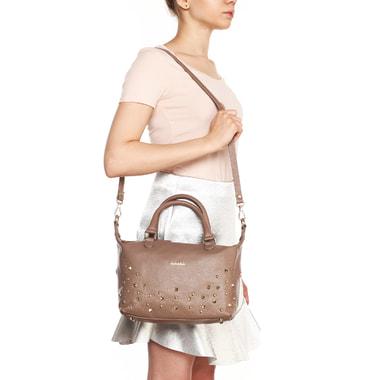 Женская кожаная сумка с короткими ручками Marina Creazioni