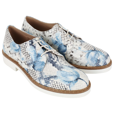 Женские ботинки из кожи Gilda Tonelli