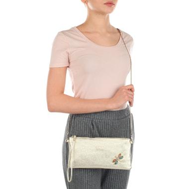 Женская кожаная сумочка через плечо Marina Creazioni