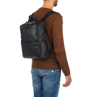Мужской деловой рюкзак из натуральной кожи Piquadro