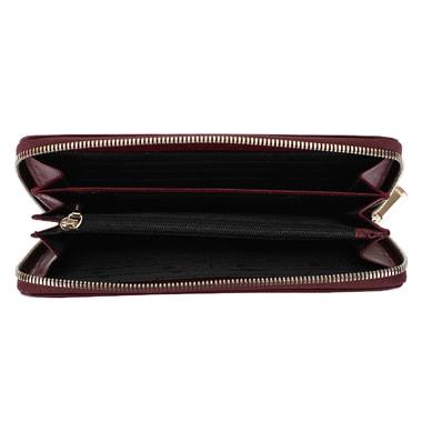 Женское портмоне из бордовой кожи Chatte