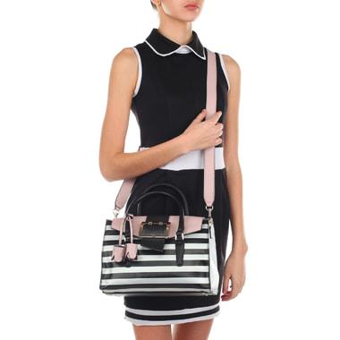 Объемная женская сумка с плечевым ремешком Guess