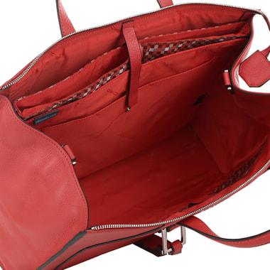 Деловая кожаная сумка с отделением для ноутбука Piquadro