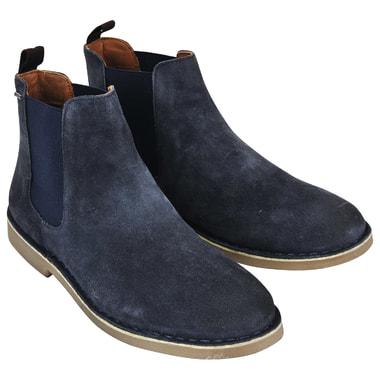 Мужские замшевые ботинки с эластичными вставками Pepe Jeans London