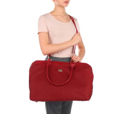 Красная дорожная сумка Aurelli