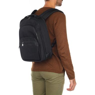 Мужской комбинированный рюкзак с тремя отделами Stevens