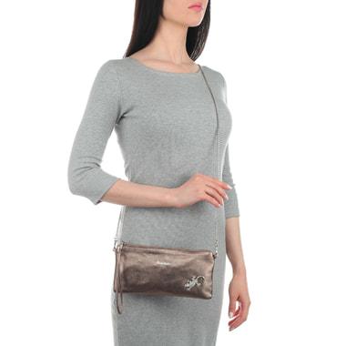 Женский кожаный клатч Marina Creazioni