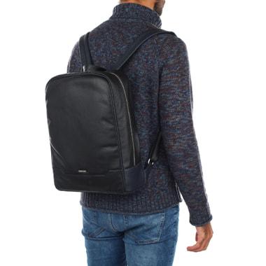 Мужской кожаный рюкзак Cerruti 1881