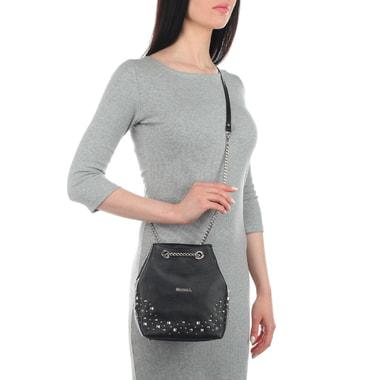 Женская сумочка-торба с декором Marina Creazioni