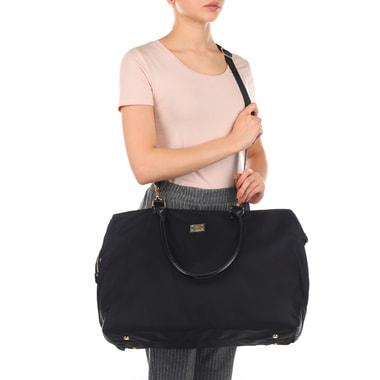 Черная дорожная сумка Aurelli