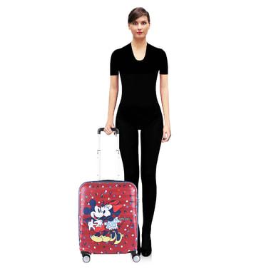 Маленький чемодан на колесах American Tourister