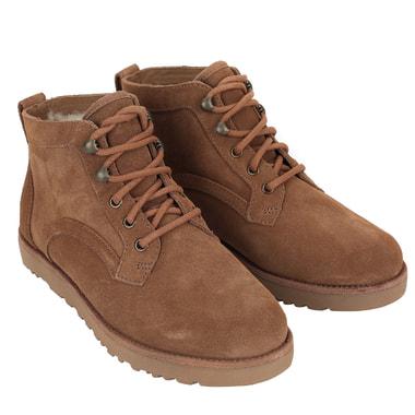 Женские замшевые ботинки на шнуровке UGG