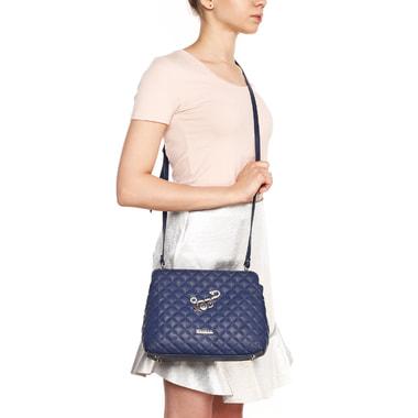 Маленькая стеганая сумка из натуральной кожи Marina Creazioni