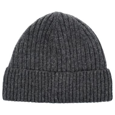 Мужская шапка серого цвета Dr. Koffer