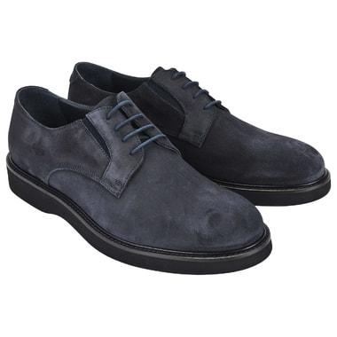 Мужские замшевые полуботинки на шнуровке Dino Bigioni