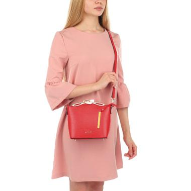 Женская сумочка красного цвета Cromia