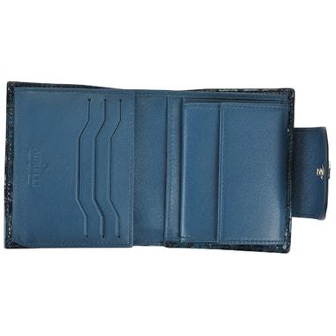 Женское портмоне с отделкой под крокодиловую кожу Aurelli