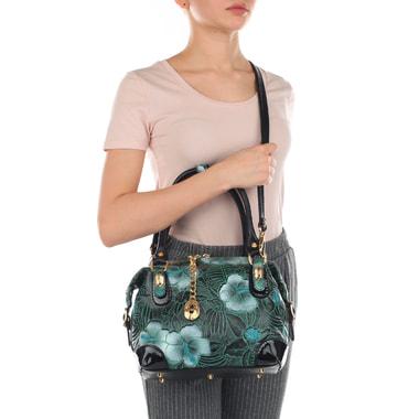 Аккуратная женская сумочка из кожи Marino Orlandi