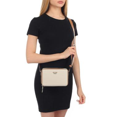 Женская сумочка с широким ремешком Guess