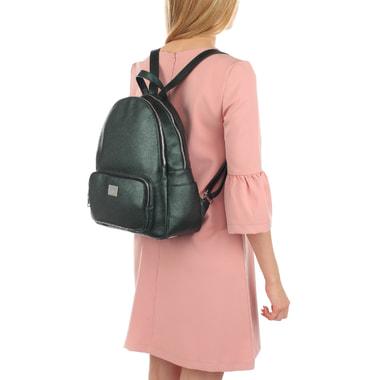 Женский кожаный рюкзак с двумя отделами Chatte
