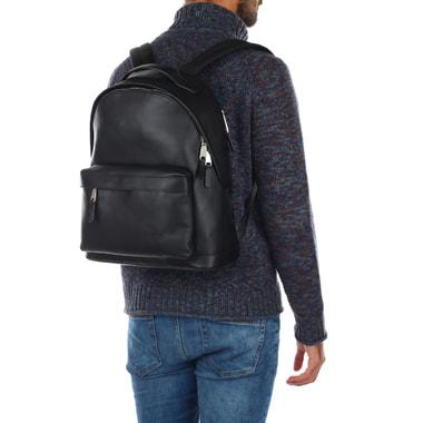 Вместительный мужской рюкзак из натуральной кожи Michael Kors Men