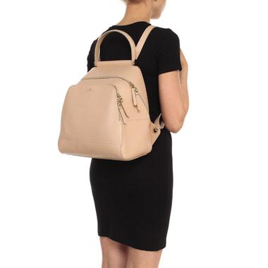 Женский рюкзак из сафьяновой кожи Aurelli