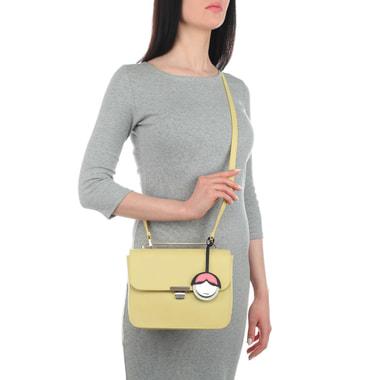 Женская кожаная сумочка с тремя отделами Furla